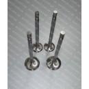 Клапаны двигателя впуск Богдан А091, А092, Isuzu NQR 4HG1, 4HG1-T, 4HE1, 4HF1 комплект