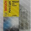 Лампочка автомобильная W21/5W 12В 21/5Вт Bosch 1987302252