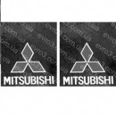 Брызговик передний к-т 2 шт Mitsubishi Canter FB431 436 FE444 (88>97)