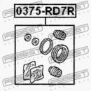 Ремкомплект суппорта заднего Honda CR-V 01-06 0375-RD7R, 01473-SP0-000