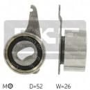 Ролик ГРМ Mazda F6, FE 626 GC, 929 HB широкий 52TB0514B01, VKM74001, VKM74501 натяжной