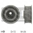 Ролик ГРМ Audi, Seat, VW 1.6D, 1.9D 80-99 531007910, VKM11010 натяжной