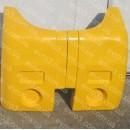Бампер задний I-VAN левый желтый